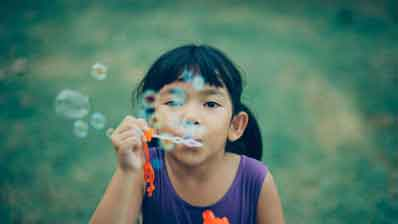 Kids and Bubbles